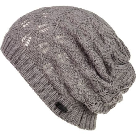 Vans Uprising Slouchy Beanie. I got one kinda like this from Claire's. It has flowers on one side and it's a little small...