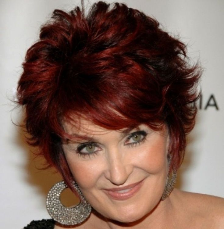 Image result for short hair styles for older women with