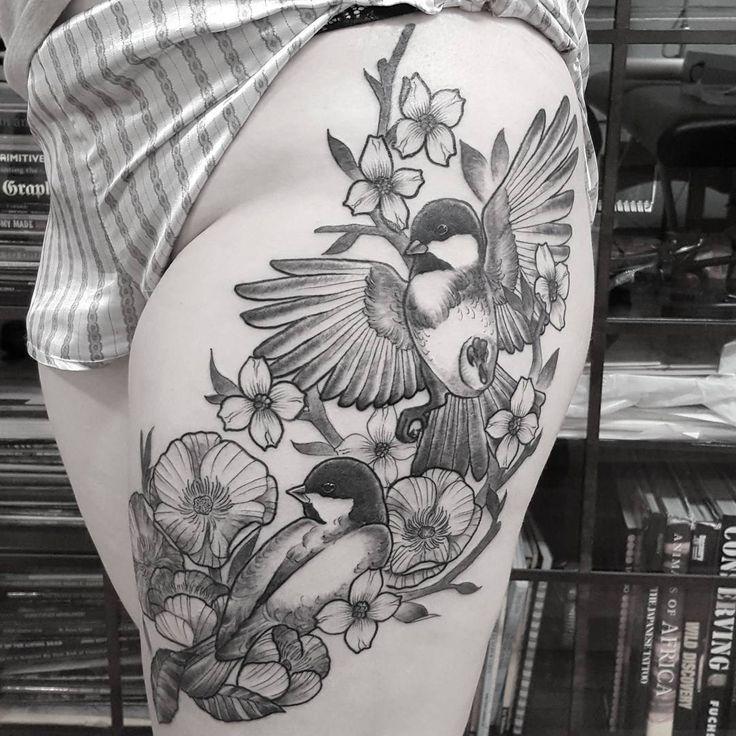 Beautiful Realistic Chickadee Tattoo By Australian Realism: Pin By Kallah Jean On My Body Is A Temple