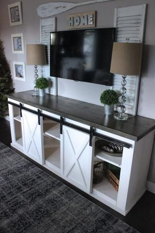 coolest ideas repurposing an old tv stand - Ideas Of Living Room Decorating