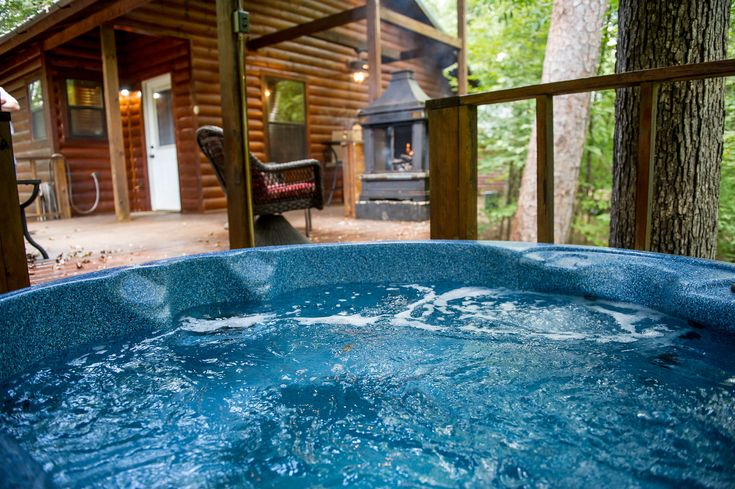 Dances With Wolves Kiamichi Cabins Oklahoma Travel Sunken Hot Tub Dances With Wolves