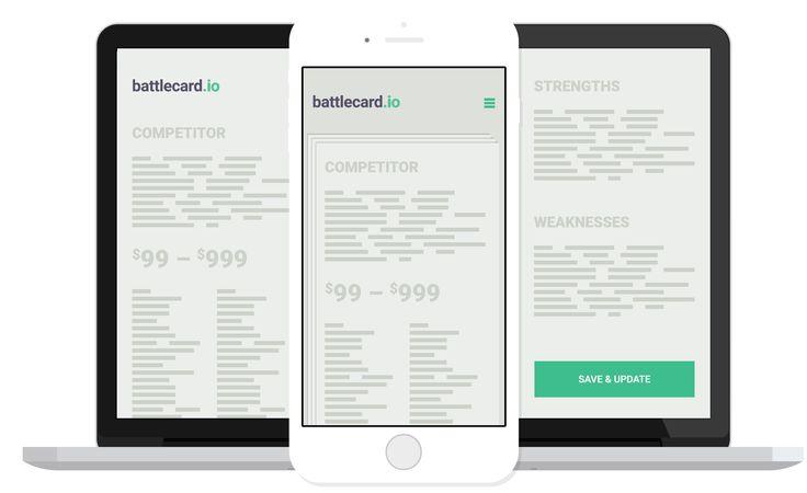 Battlecard.io | Battlecards made easy.