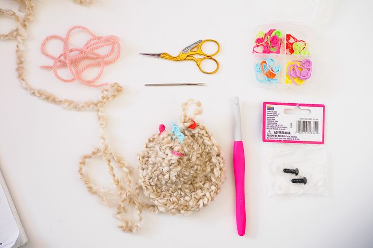 Tools needed when working with Homespun yarn