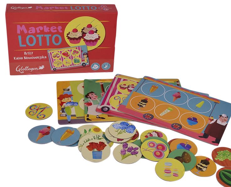 Market Lotto - super cute.