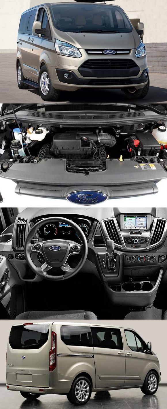 Ford tourneo courier pictures to pin on pinterest - 2016 Ford Transit Custom Spied Get More Details At Http Www