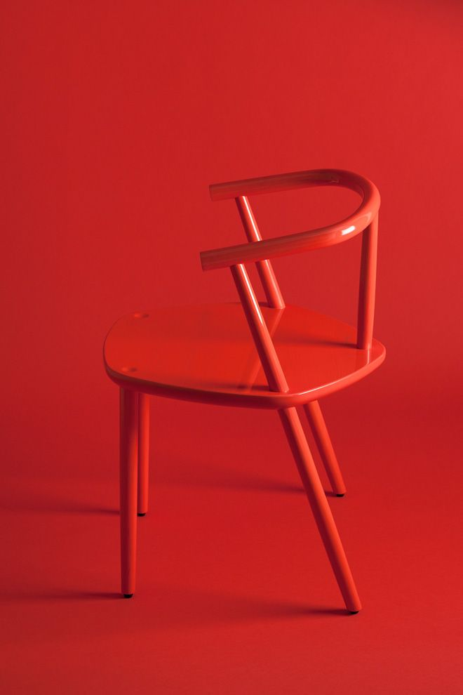 "splashes-of-red: "" ""FIVE"" by design studio Claesson Koivisto Rune for the japanese brand Matsuso T """