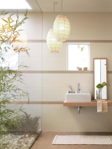 1000 ideas about bamboo bathroom on pinterest brass - Bamboo flooring in kitchen and bathroom ...