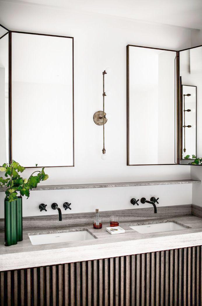 Modern Small Bathroom Decor His Bathroom Decor Signs Modern Bathroom Design Parisian Apartment Decor Bathroom Interior Design