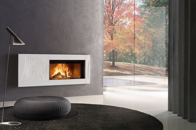 Piazzetta Design Signs Fireplace