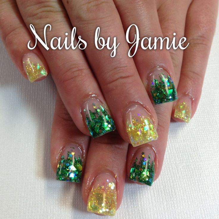 Go Ducks Nails  Follow Nails by Jamie on Instagram! NailPro97401