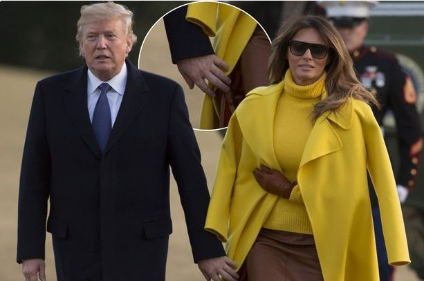 AMAZING STORIES AROUND THE WORLD: Donald Trump's Wife, Melania 'Refuses To Hold His ...