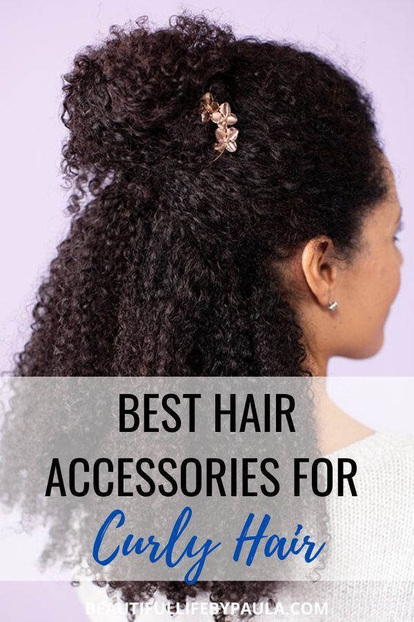 Best Hair Accessories For Curly Hair In 2020 Curly Hair Styles