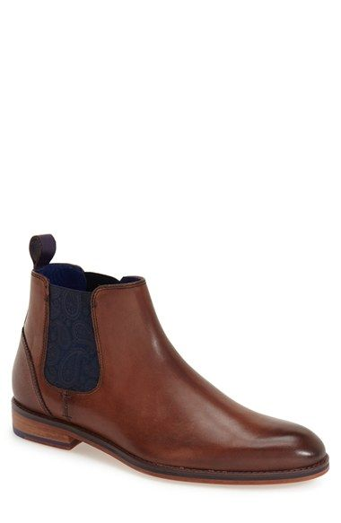 Ted Baker London 'Camroon 2' Chelsea Boot (Men) available at #Nordstrom