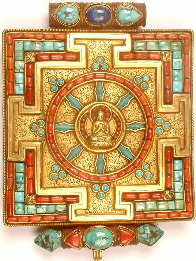 Dharmachakra, Buddhist symbol for the Eightfold Path
