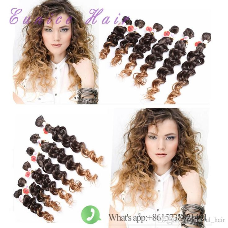 The 20 Best 6pcs Synthetic Hair Deep Wavekinky Curly Images On