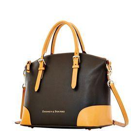 Dooney & Bourke | Claremont Domes Satchel| Must Have Fashion    Black Handbag | Black Accessory | Black Accessories | Black Purse |Neutral Handbag | Neutral Accessory | Neutral Accessories | Neutral Purse |  Fashion | Style