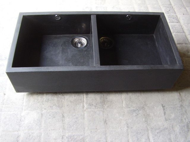 Stone Double Belfast Sink, Granite Double Farmhouse Sink, £565.00