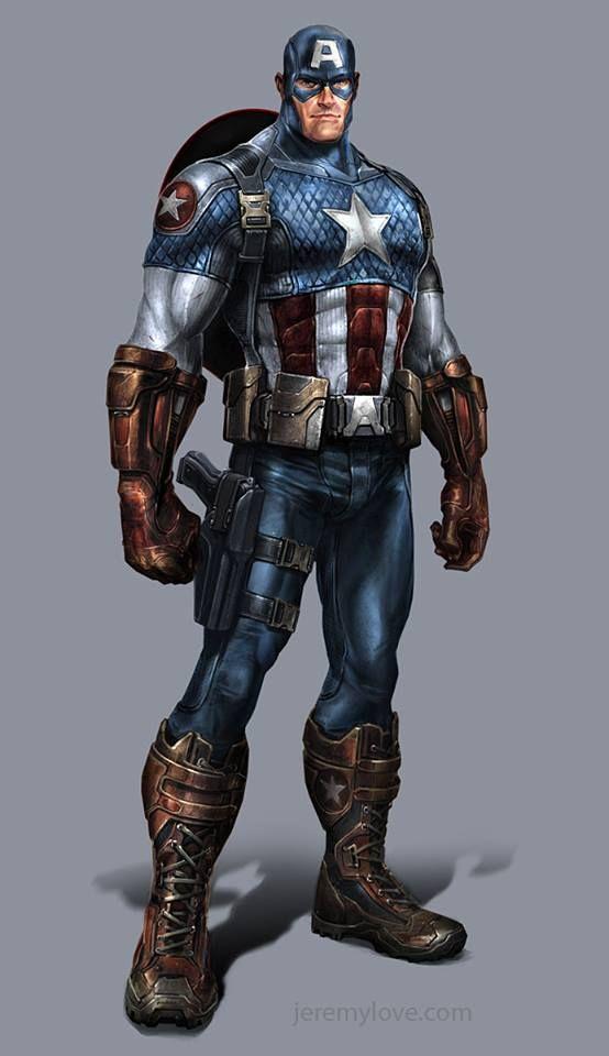 Captain America by Jeremy Love *