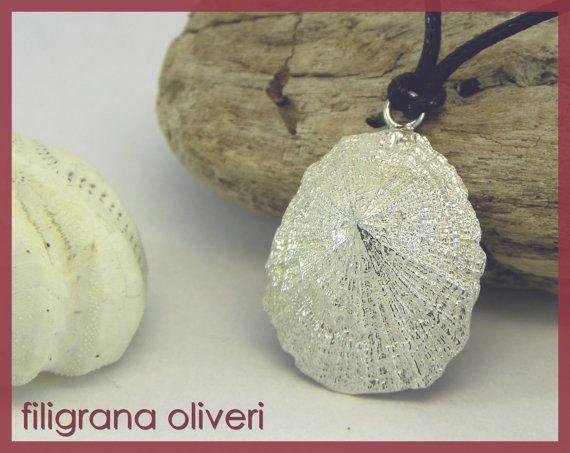 Ciondolo Conchiglia Argento 925 di GioielliOliveri su Etsy