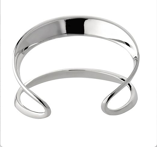 Double Bangle Cuff Silver $660 #top3bydesign #SupaCenta #GiftGuides