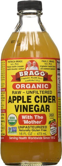 Bottle of Bragg's Apple Cider Vinegar