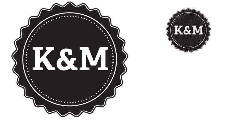 kmvintagelogojpg 750215404 logo idea pinterest