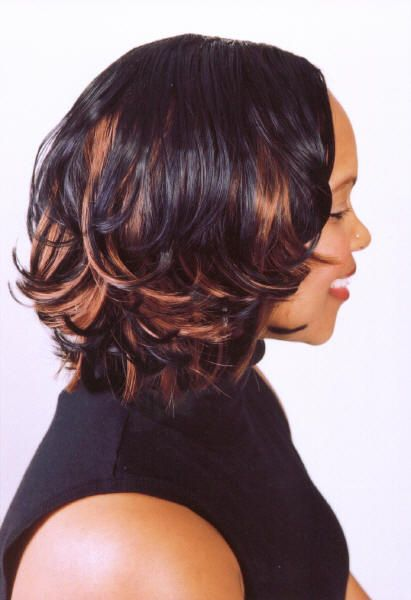 Love this!  Highlights for Black Women  Pinterest  Hairstyles, Hair and Braids