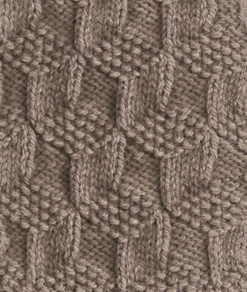 Resultado de imagem para ponto de trico chains pattern