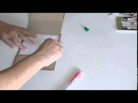 La cascade en vidéo… | Les Tutos Scrap de Manou
