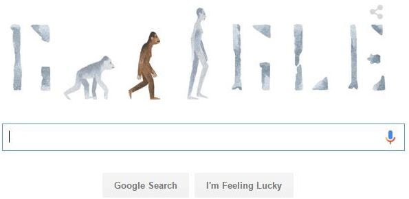 """The Creation Museum's Ken Ham has accused Google of promoting what he called the """"atheistic religion of naturalism"""" with its front page illustration of evolution Tuesday."""