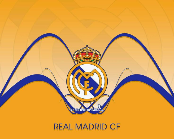 Real Madrid Logo Blue Background Wallpaper  WallpapersByte 1920×1200 Image Real Madrid Wallpapers (50 Wallpapers) | Adorable Wallpapers