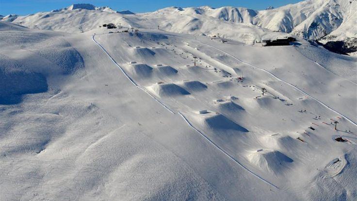 Mottolino Snowpark Livigno, Italy | Best Snowparks in Europe