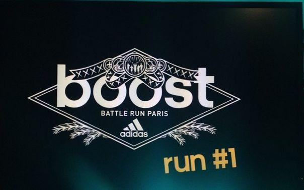 Boost Battle Run par Adidas ! Rejoins la team #boostbelleville