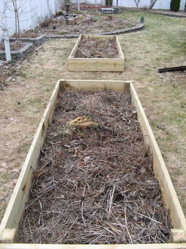 313 best images about outdoor project inspiration on pinterest for Building a raised vegetable garden
