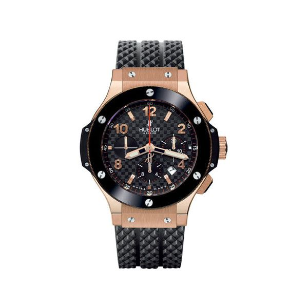 Hublot Big Bang Gold 44mm 301.pb.131.rx Watch ($21,888) ❤ liked on Polyvore featuring men's fashion, men's jewelry, men's watches, hublot mens watches, mens gold chronograph watches, mens gold watches and mens chronograph watches