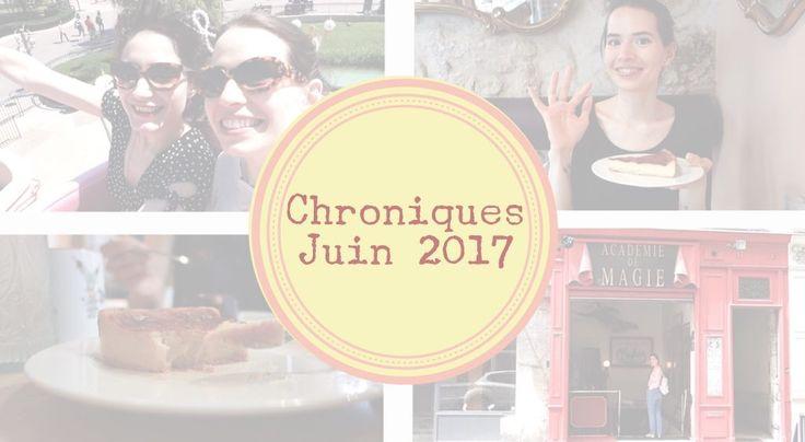 Chroniques 06/2017 📔 Journée à Disney, Sitron Paris (pâtisserie SG & SL), musée de la magie