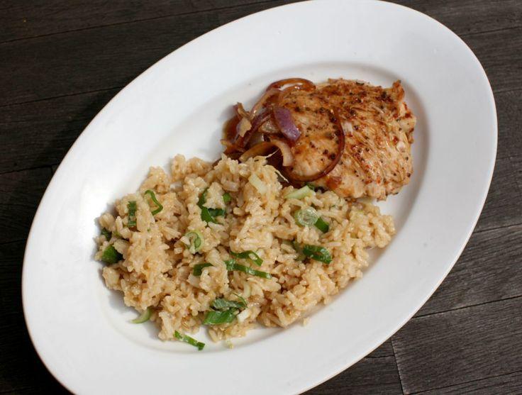 Zázvorová smažená rýže