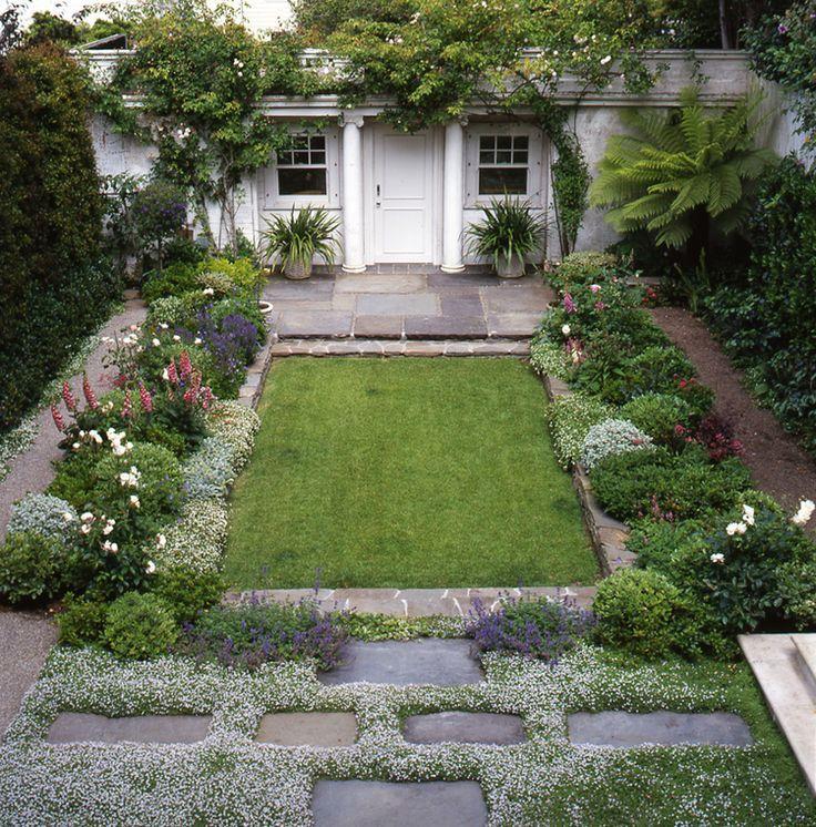 Pacific Heights courtyard garden   Elizabeth Everdell Garden Design