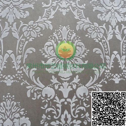 Huayi Flocked wallpaper ❤ Classic Style HYCS300102❤ Complete specifications & First-class quality