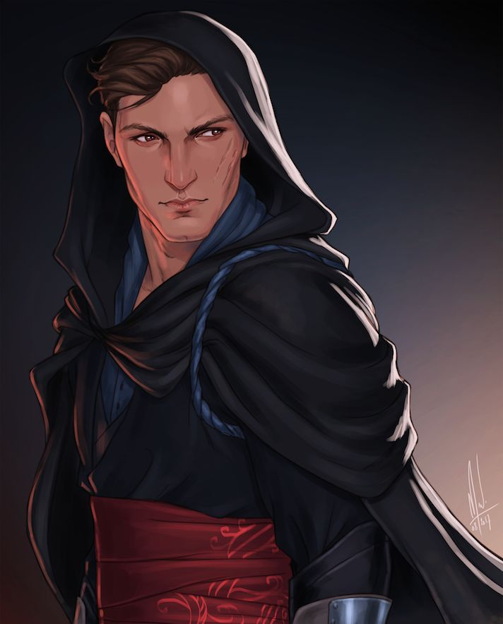 Chaol Westfall from the Throne of Glass series by Sarah J. Maas