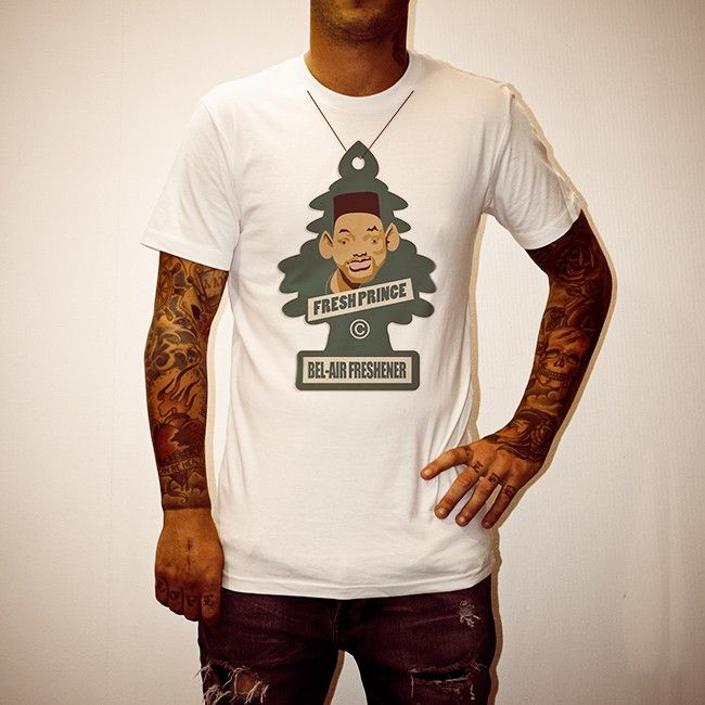 Buy Air Freshener White Tee Shirt online today at Uncle Reco's Online Store.