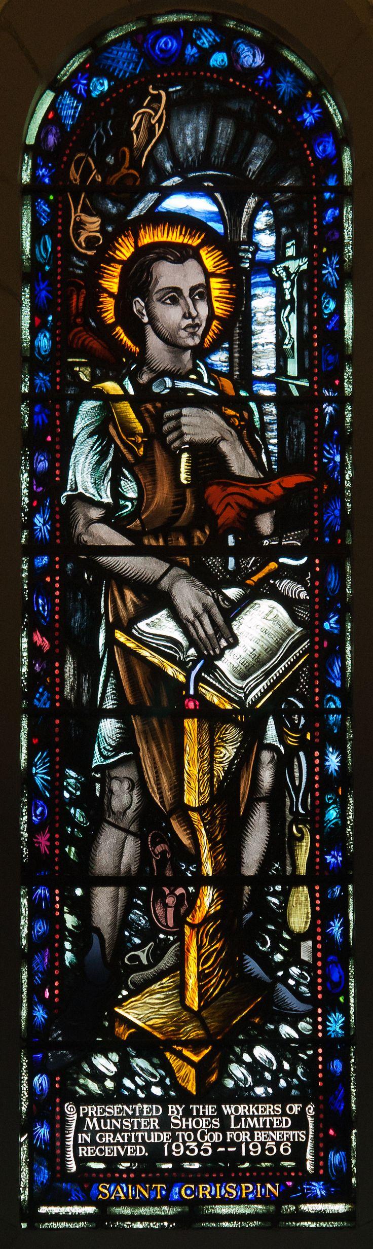 Saint Crépin (St Crispin) - Église St Pierre et St Paul - Clonmel, County Tipperary, Irlande
