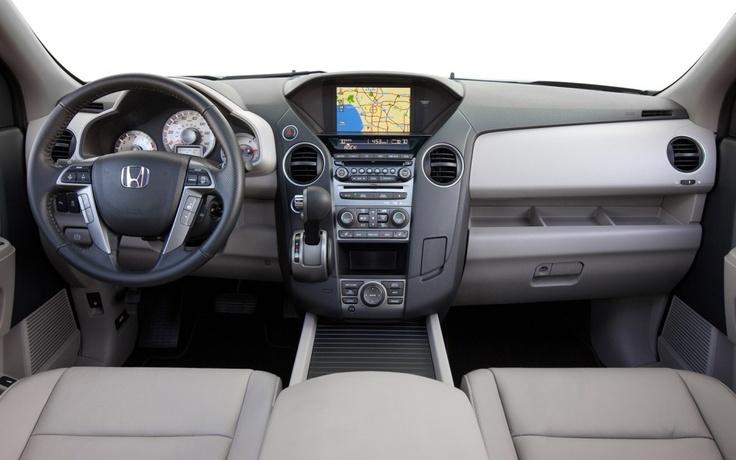 Spacious & functional interior of the 2013 #Honda Pilot http://www.miltonmartinhonda.com/vehicle/specs/honda/pilot/2013