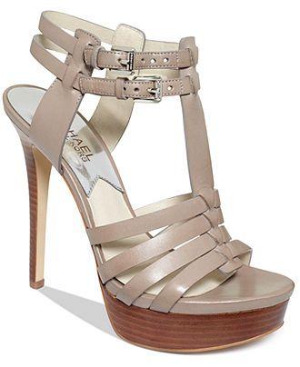 MICHAEL Michael Kors Shoes, Georgie High Heel Platform Sandals -