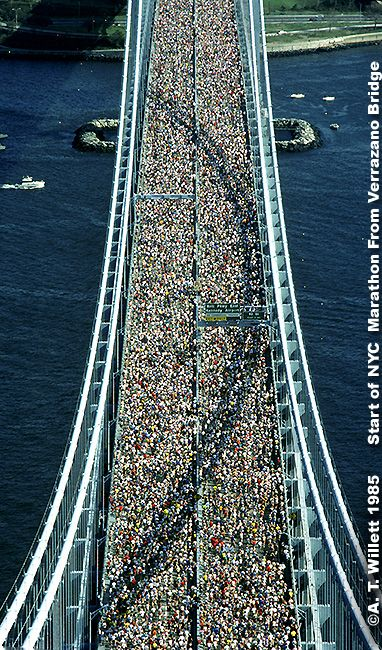 Start of the NYC marathon.  WTF!?!? that pumps my adrenaline just looking at this!!