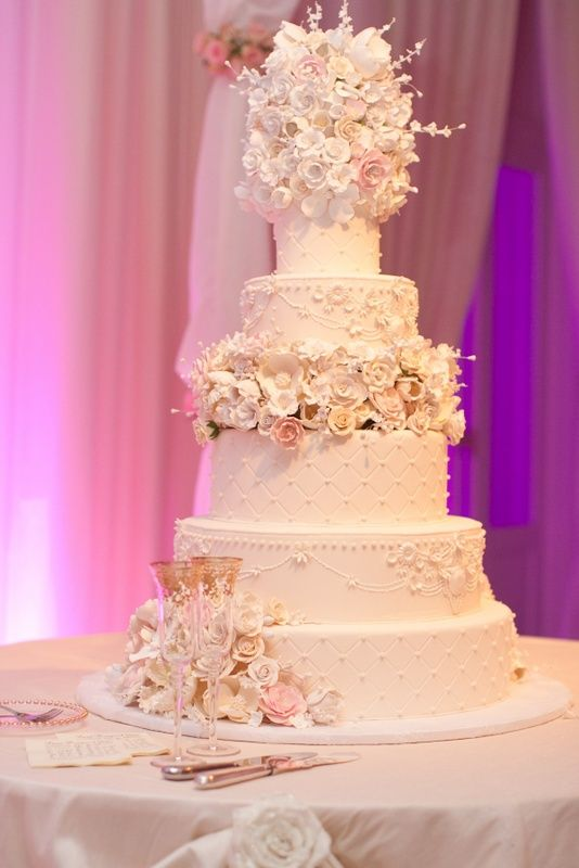 wedding cake extravagant wedding cake gumpaste flowers over the top fondant wedding