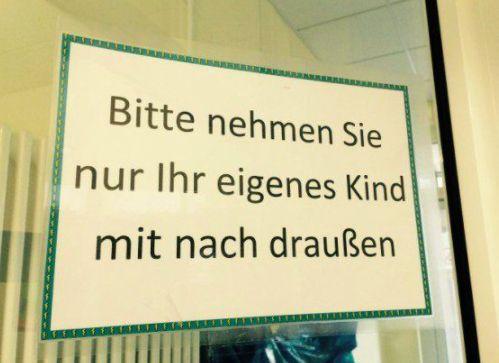 Die 100 lustigsten Schilder Deutschlands, weil man gönnt sich ja sonst nichts – Bud Spencer