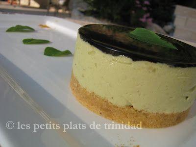 les petits plats de trinidad: Bavarois d'avocat sur croustillant de tuc et miroi...