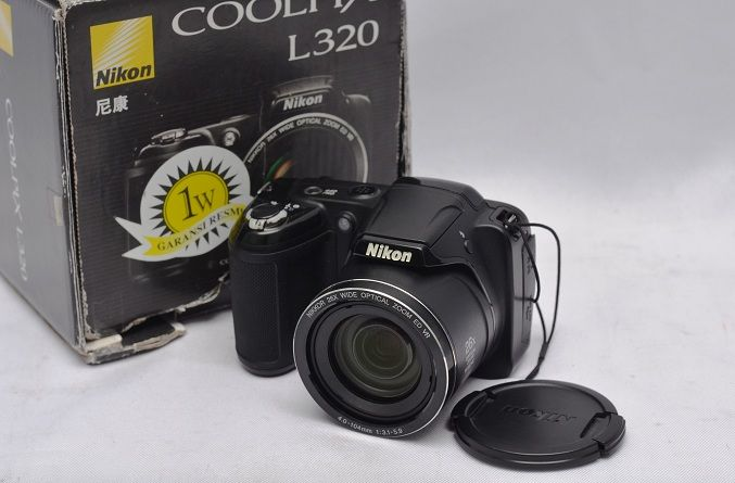Jual Kamera Prosumer Second – Nikon Coolpix L320: Kamera Prosumer Second - Nikon Coolpix L320 Harga: Rp. 1.150.000,- (Ready)