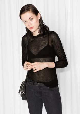 & Other Stories | Perforated Top